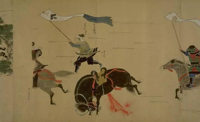 日本传世名画《蒙古袭来绘词》 第6张 日本传世名画《蒙古袭来绘词》 蒙古文化