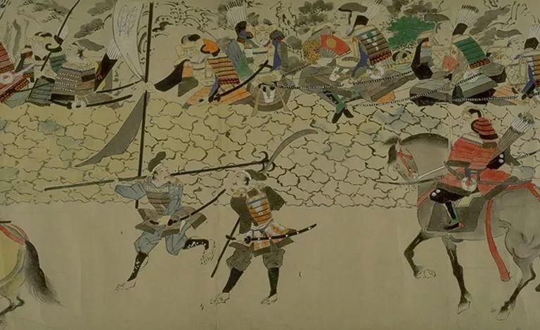 日本传世名画《蒙古袭来绘词》 第8张 日本传世名画《蒙古袭来绘词》 蒙古文化