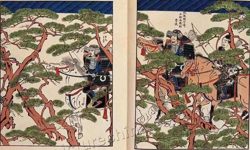 日本传世名画《蒙古袭来绘词》 第11张 日本传世名画《蒙古袭来绘词》 蒙古文化