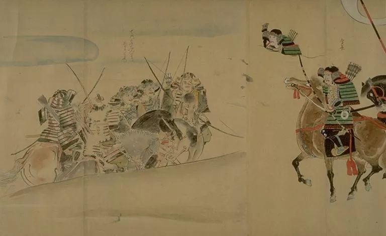 日本传世名画《蒙古袭来绘词》 第14张 日本传世名画《蒙古袭来绘词》 蒙古文化