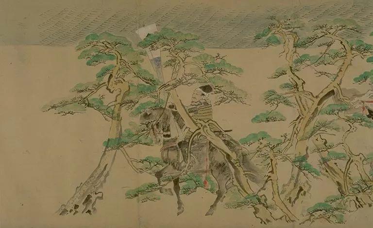 日本传世名画《蒙古袭来绘词》 第13张 日本传世名画《蒙古袭来绘词》 蒙古文化