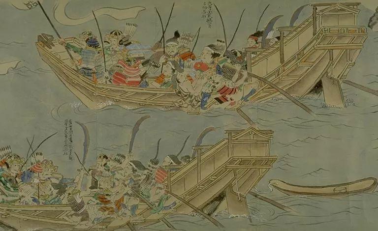 日本传世名画《蒙古袭来绘词》 第17张 日本传世名画《蒙古袭来绘词》 蒙古文化