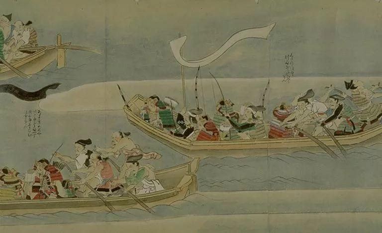 日本传世名画《蒙古袭来绘词》 第18张 日本传世名画《蒙古袭来绘词》 蒙古文化