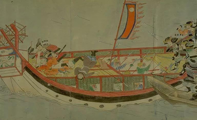 日本传世名画《蒙古袭来绘词》 第19张 日本传世名画《蒙古袭来绘词》 蒙古文化