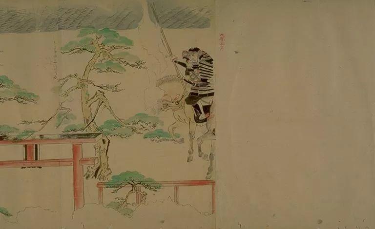日本传世名画《蒙古袭来绘词》 第22张 日本传世名画《蒙古袭来绘词》 蒙古文化