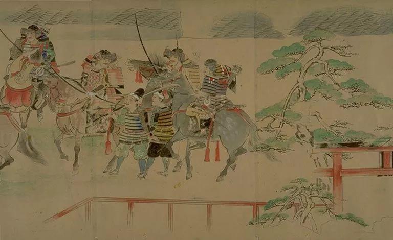 日本传世名画《蒙古袭来绘词》 第23张 日本传世名画《蒙古袭来绘词》 蒙古文化