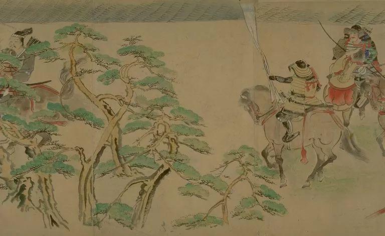 日本传世名画《蒙古袭来绘词》 第24张 日本传世名画《蒙古袭来绘词》 蒙古文化