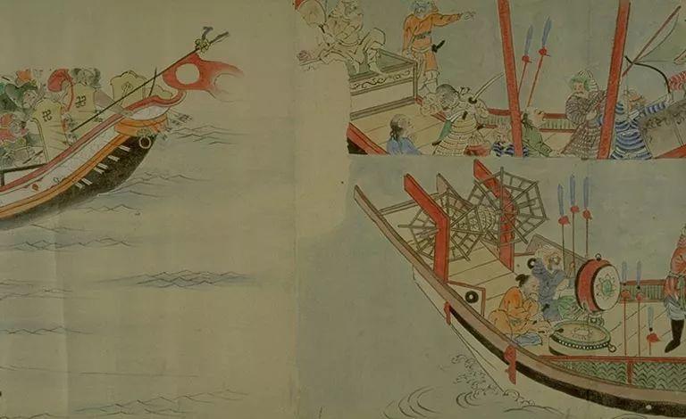 日本传世名画《蒙古袭来绘词》 第25张 日本传世名画《蒙古袭来绘词》 蒙古文化