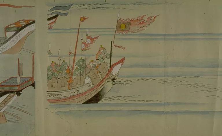 日本传世名画《蒙古袭来绘词》 第27张 日本传世名画《蒙古袭来绘词》 蒙古文化