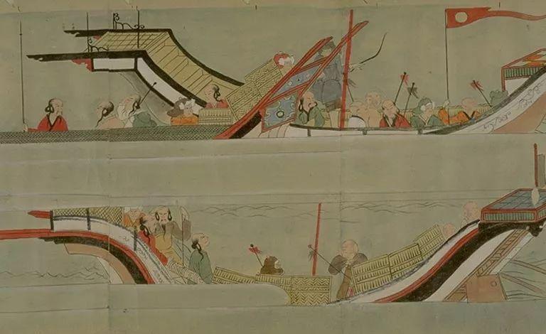 日本传世名画《蒙古袭来绘词》 第28张 日本传世名画《蒙古袭来绘词》 蒙古文化