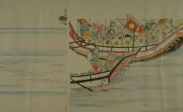 日本传世名画《蒙古袭来绘词》 第26张 日本传世名画《蒙古袭来绘词》 蒙古文化