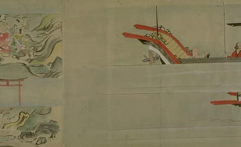 日本传世名画《蒙古袭来绘词》 第29张 日本传世名画《蒙古袭来绘词》 蒙古文化