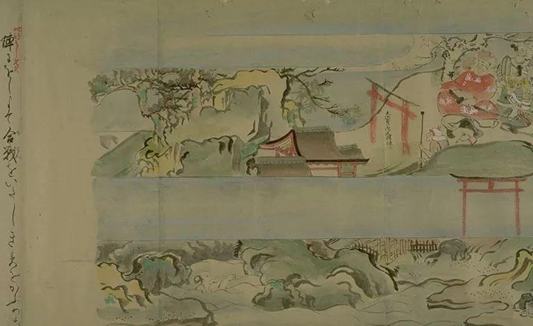 日本传世名画《蒙古袭来绘词》 第30张 日本传世名画《蒙古袭来绘词》 蒙古文化