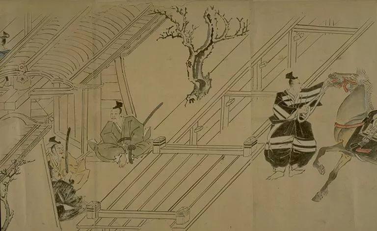 日本传世名画《蒙古袭来绘词》 第34张 日本传世名画《蒙古袭来绘词》 蒙古文化
