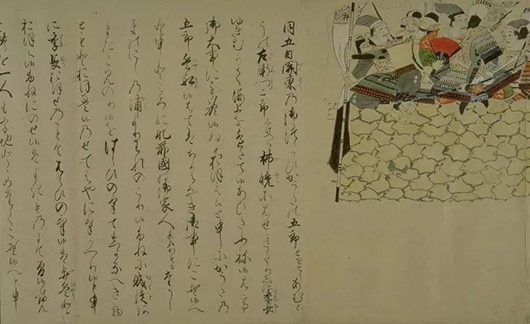 日本传世名画《蒙古袭来绘词》 第38张 日本传世名画《蒙古袭来绘词》 蒙古文化