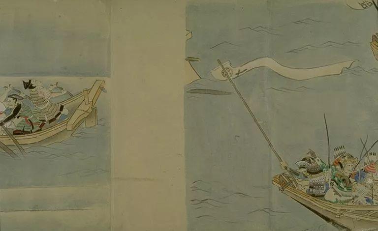 日本传世名画《蒙古袭来绘词》 第42张 日本传世名画《蒙古袭来绘词》 蒙古文化