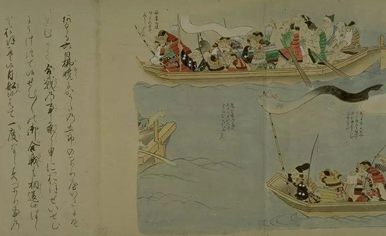 日本传世名画《蒙古袭来绘词》 第43张 日本传世名画《蒙古袭来绘词》 蒙古文化