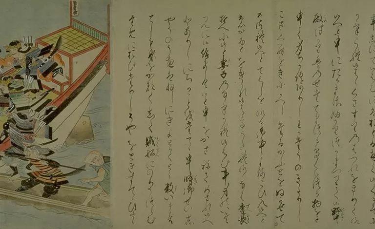 日本传世名画《蒙古袭来绘词》 第44张 日本传世名画《蒙古袭来绘词》 蒙古文化