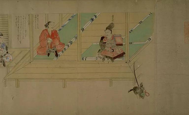 日本传世名画《蒙古袭来绘词》 第50张 日本传世名画《蒙古袭来绘词》 蒙古文化