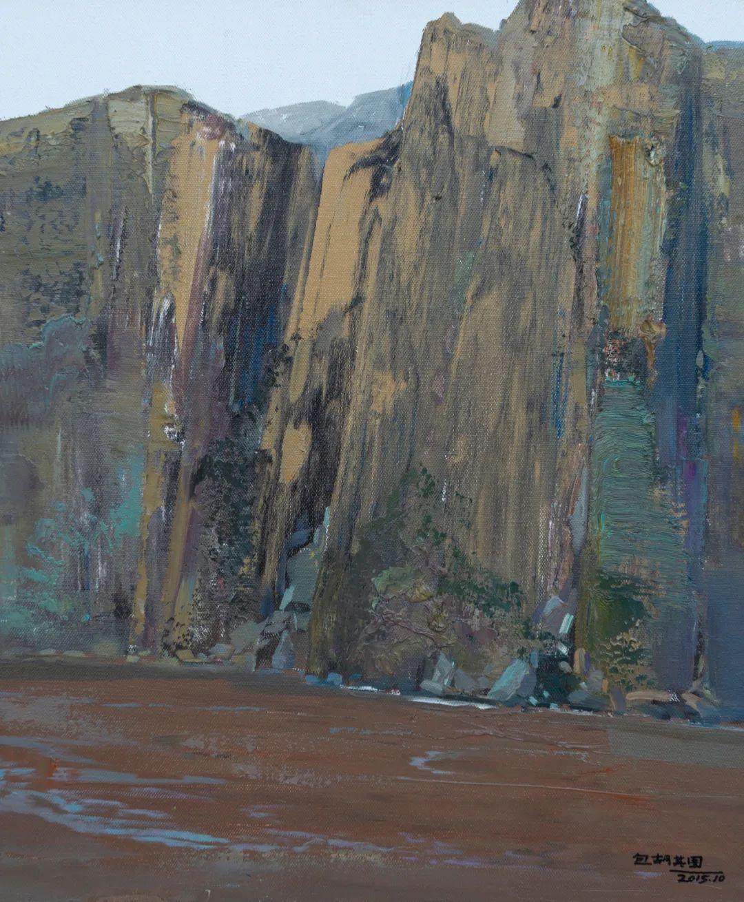 家乡美 | 科尔沁首届油画作品展部分作品(上) 第11张 家乡美 | 科尔沁首届油画作品展部分作品(上) 蒙古画廊