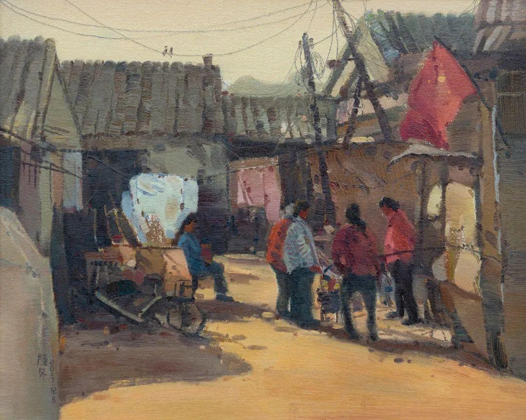 家乡美 | 科尔沁首届油画作品展部分作品(上) 第16张 家乡美 | 科尔沁首届油画作品展部分作品(上) 蒙古画廊