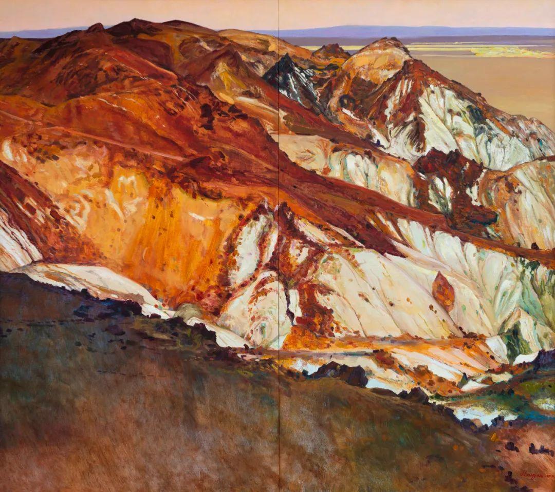 家乡美 | 科尔沁首届油画作品展部分作品(上) 第19张 家乡美 | 科尔沁首届油画作品展部分作品(上) 蒙古画廊