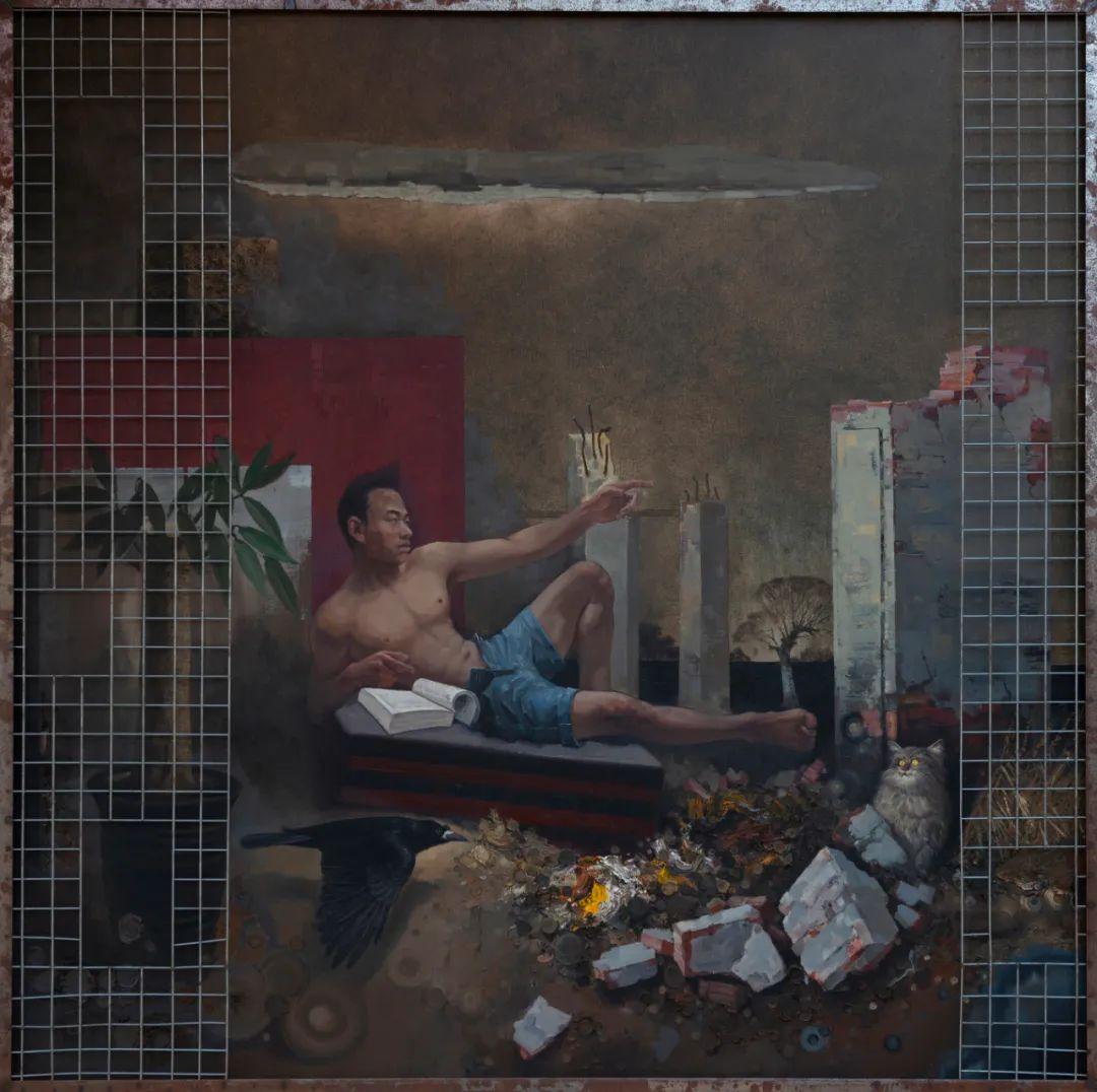 家乡美 | 科尔沁首届油画作品展部分作品(上) 第20张 家乡美 | 科尔沁首届油画作品展部分作品(上) 蒙古画廊