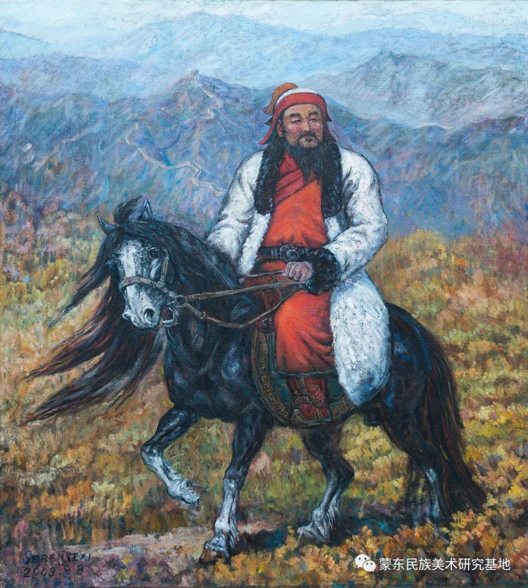科尔沁首届油画展作品集 第6张 科尔沁首届油画展作品集 蒙古画廊