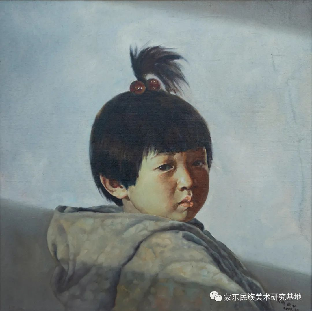 科尔沁首届油画展作品集 第13张 科尔沁首届油画展作品集 蒙古画廊