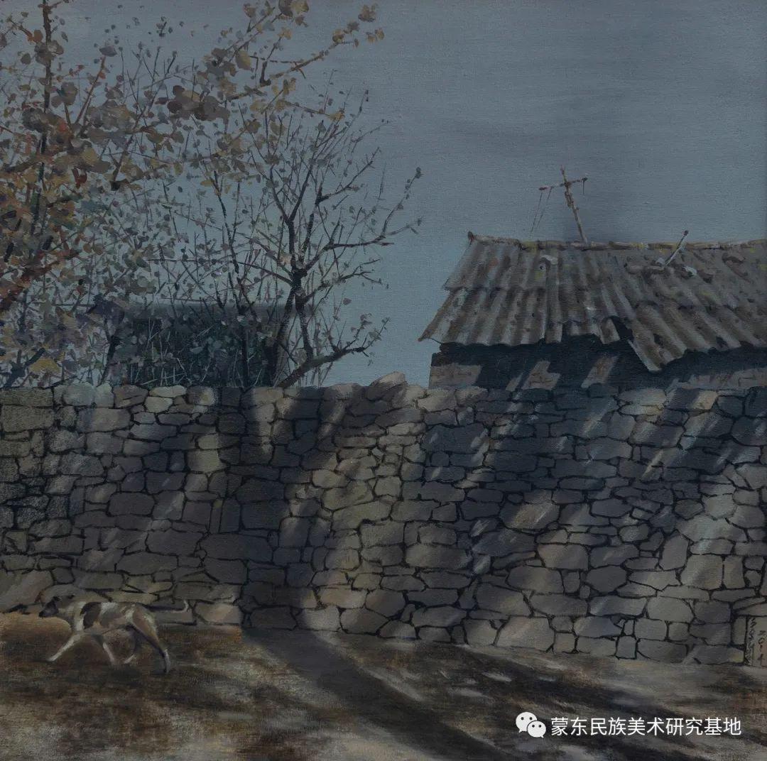 科尔沁首届油画展作品集 第16张 科尔沁首届油画展作品集 蒙古画廊