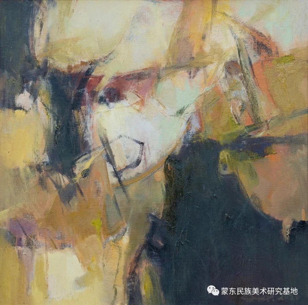 科尔沁首届油画展作品集 第22张 科尔沁首届油画展作品集 蒙古画廊