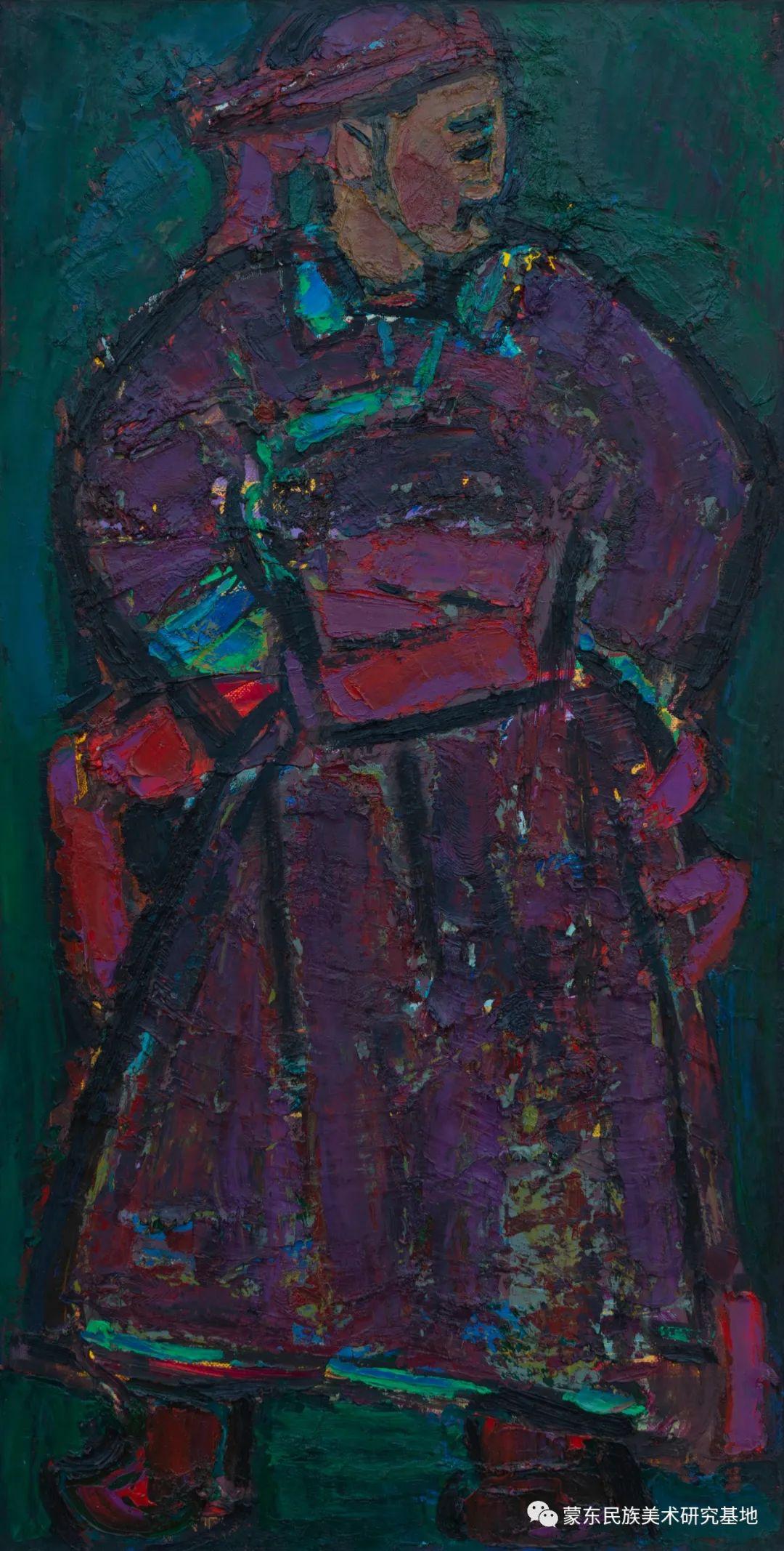 科尔沁首届油画展作品集 第23张 科尔沁首届油画展作品集 蒙古画廊