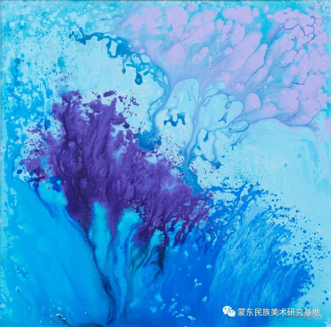 科尔沁首届油画展作品集 第27张 科尔沁首届油画展作品集 蒙古画廊