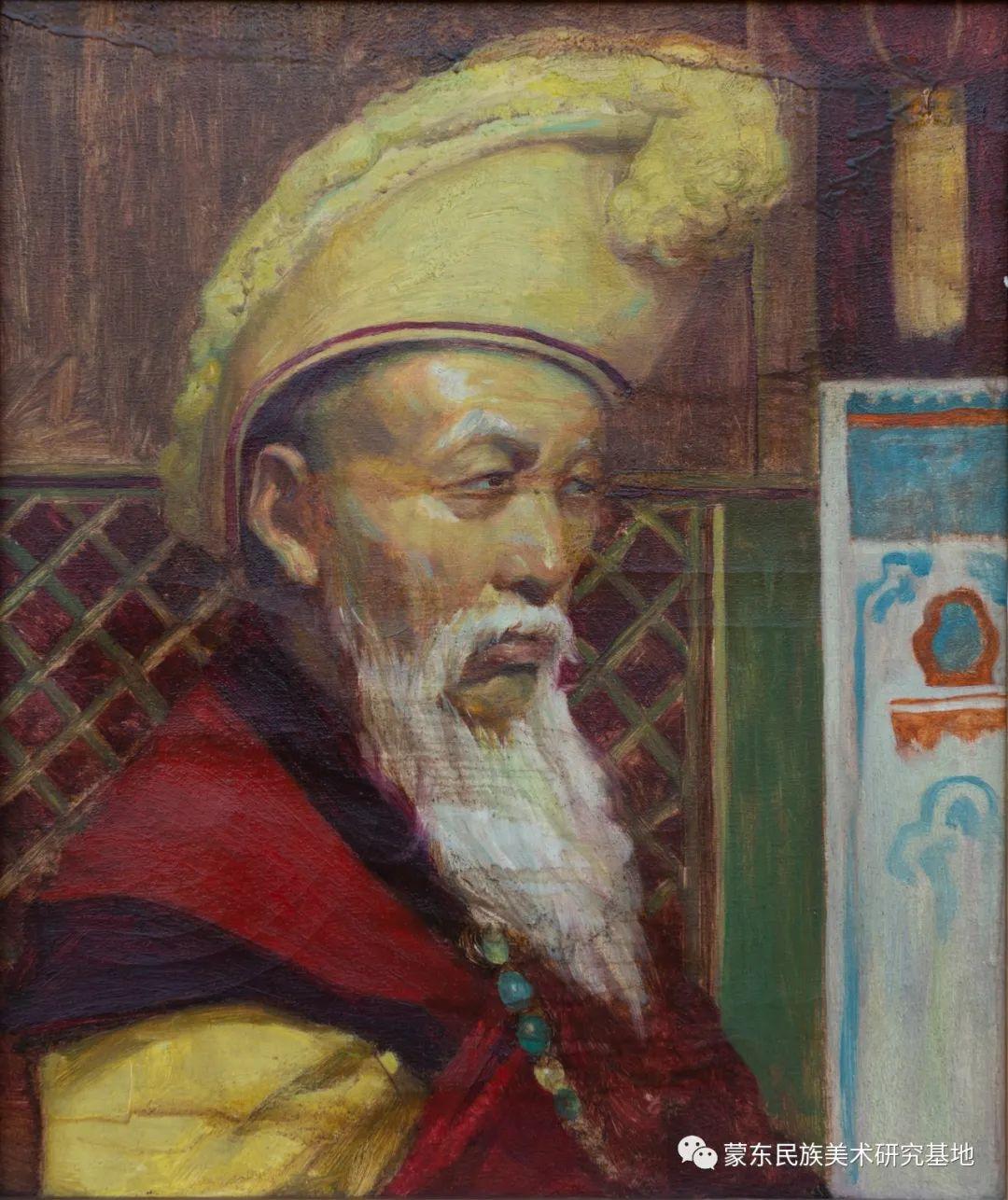 科尔沁首届油画展作品集 第35张 科尔沁首届油画展作品集 蒙古画廊