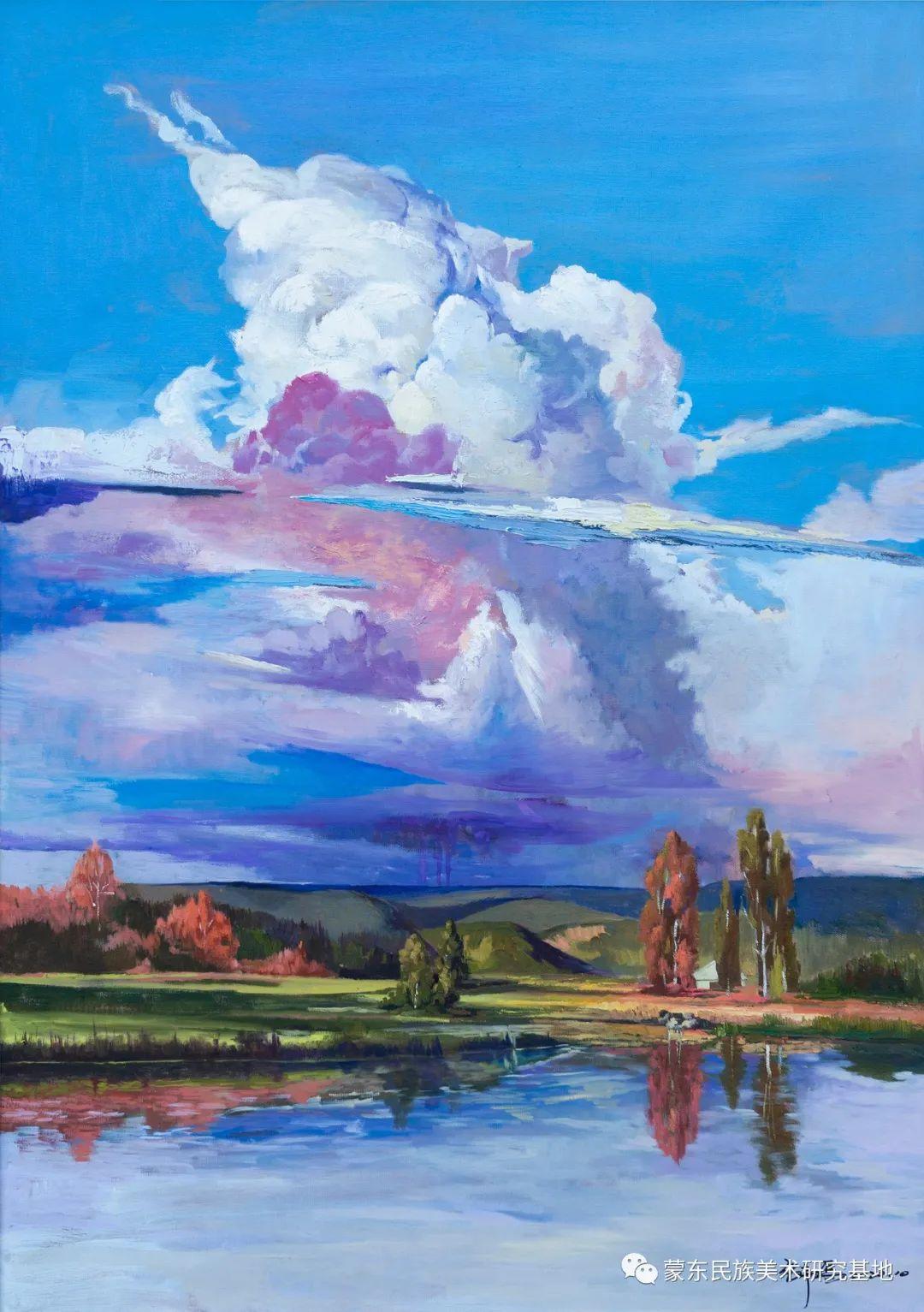 科尔沁首届油画展作品集 第47张 科尔沁首届油画展作品集 蒙古画廊