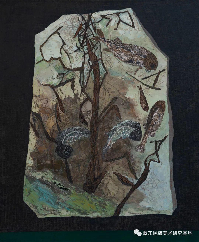 科尔沁首届油画展作品集 第50张 科尔沁首届油画展作品集 蒙古画廊