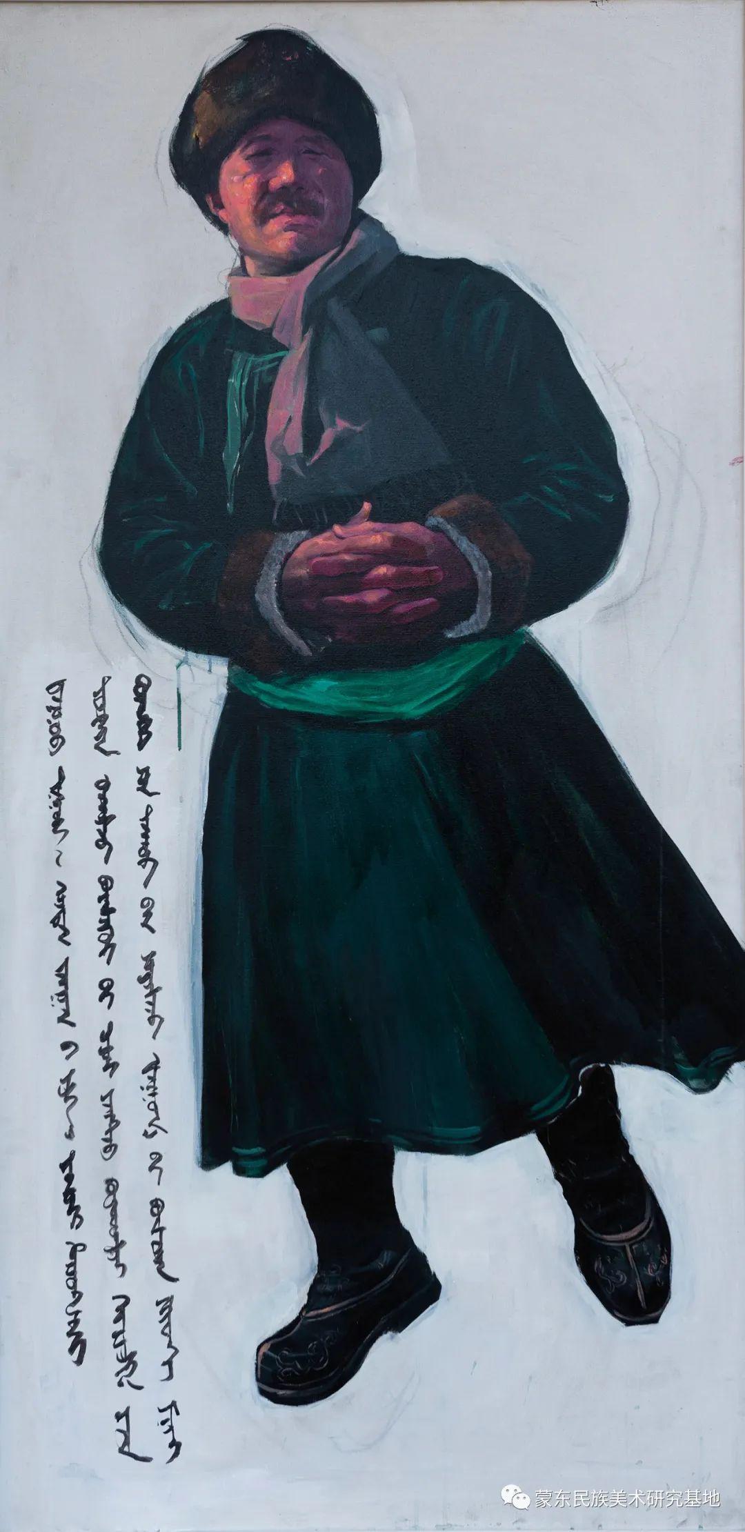 科尔沁首届油画展作品集 第53张 科尔沁首届油画展作品集 蒙古画廊