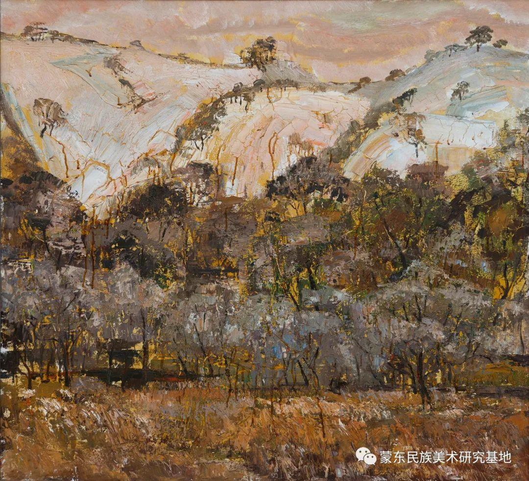科尔沁首届油画展作品集 第56张 科尔沁首届油画展作品集 蒙古画廊