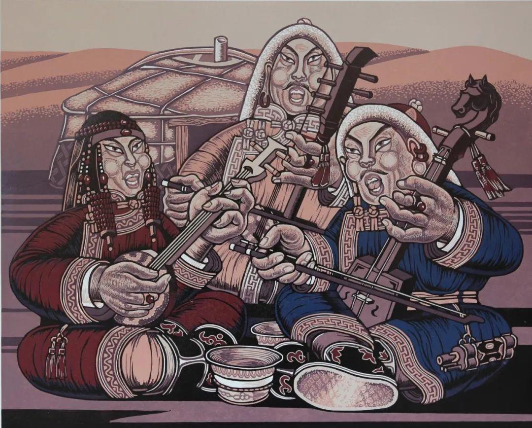 齐达拉图与版画 第10张 齐达拉图与版画 蒙古画廊