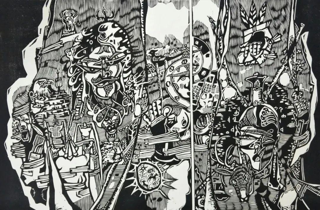 齐达拉图与版画 第12张 齐达拉图与版画 蒙古画廊