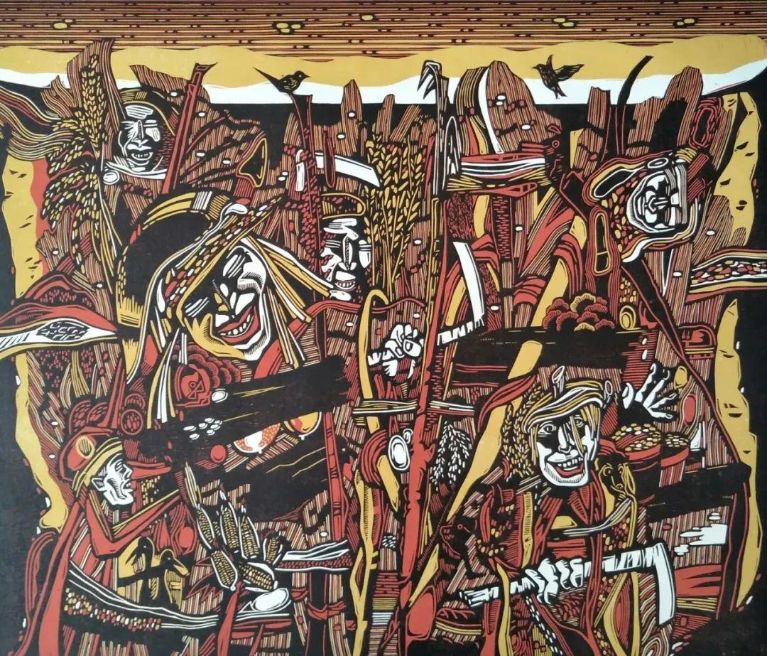 齐达拉图与版画 第11张 齐达拉图与版画 蒙古画廊