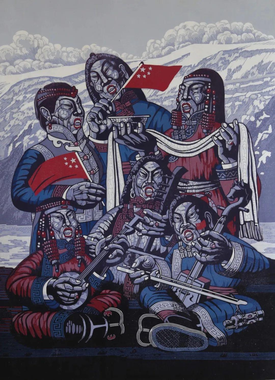 齐达拉图与版画 第15张 齐达拉图与版画 蒙古画廊