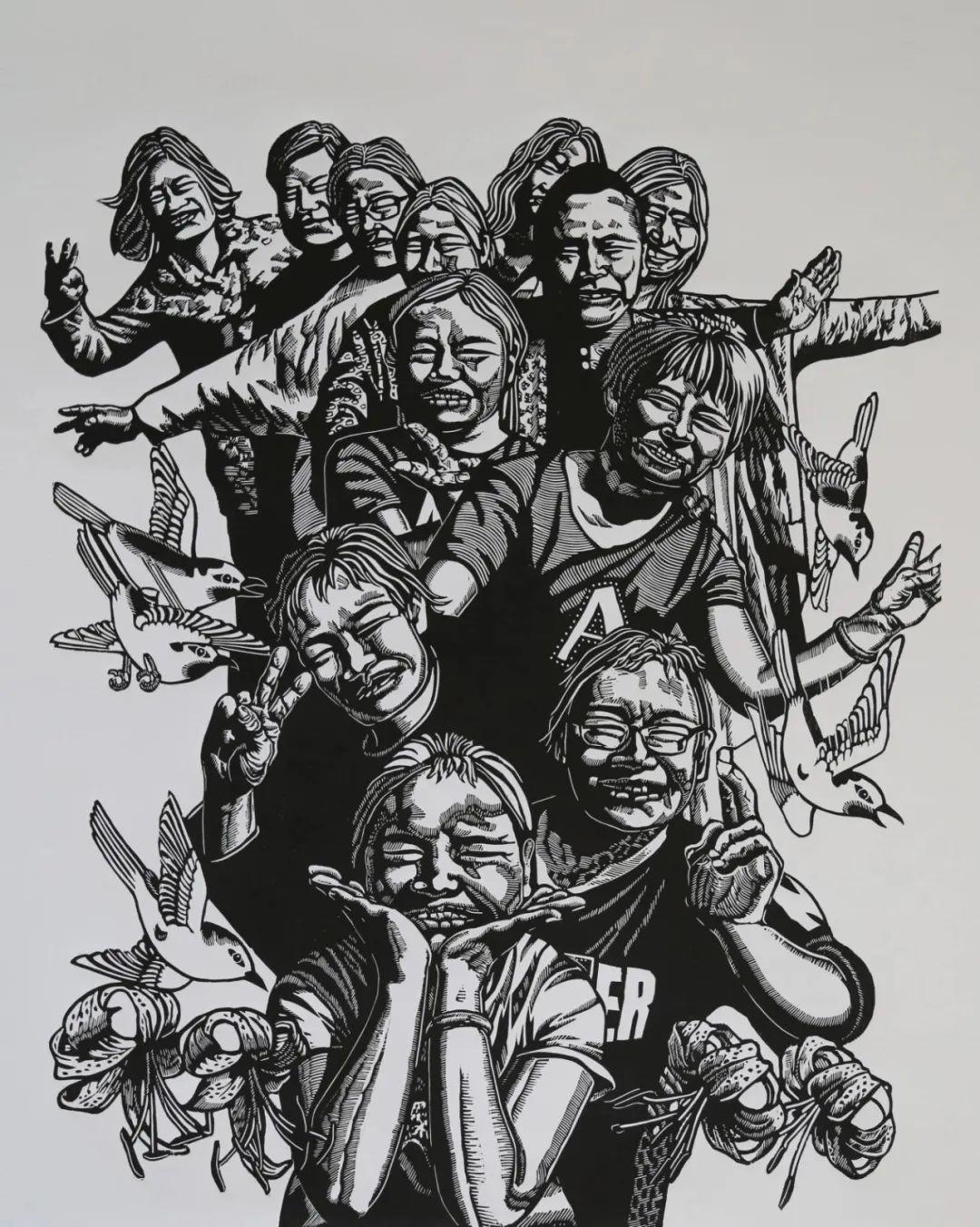 齐达拉图与版画 第17张 齐达拉图与版画 蒙古画廊