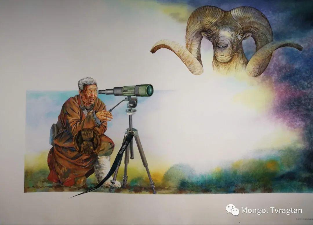 ᠣᠷᠠᠨ ᠵᠢᠷᠣᠭ-Лхагвасүрэн 第8张 ᠣᠷᠠᠨ ᠵᠢᠷᠣᠭ-Лхагвасүрэн 蒙古画廊