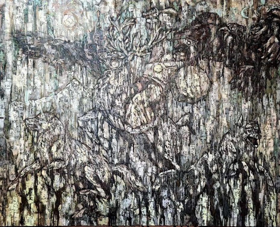 ᠣᠷᠠᠨ ᠵᠢᠷᠣᠭ-Бат-Өлзий 第8张 ᠣᠷᠠᠨ ᠵᠢᠷᠣᠭ-Бат-Өлзий 蒙古画廊