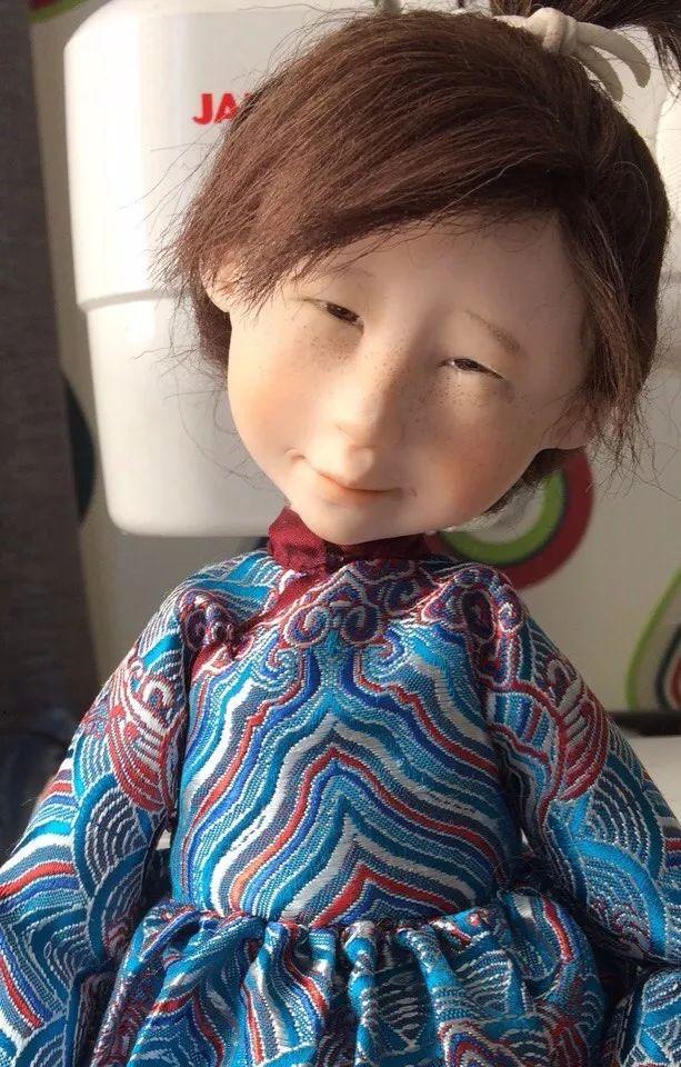 布里亚特美女制作的蒙古布娃娃,太可爱了! 第2张 布里亚特美女制作的蒙古布娃娃,太可爱了! 蒙古工艺