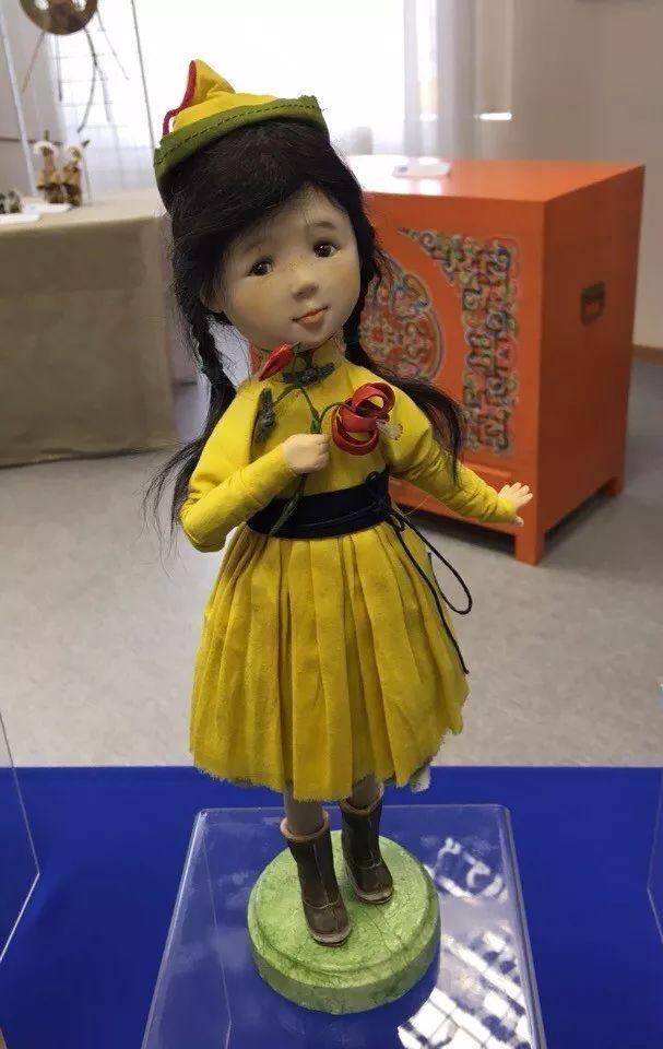 布里亚特美女制作的蒙古布娃娃,太可爱了! 第5张 布里亚特美女制作的蒙古布娃娃,太可爱了! 蒙古工艺