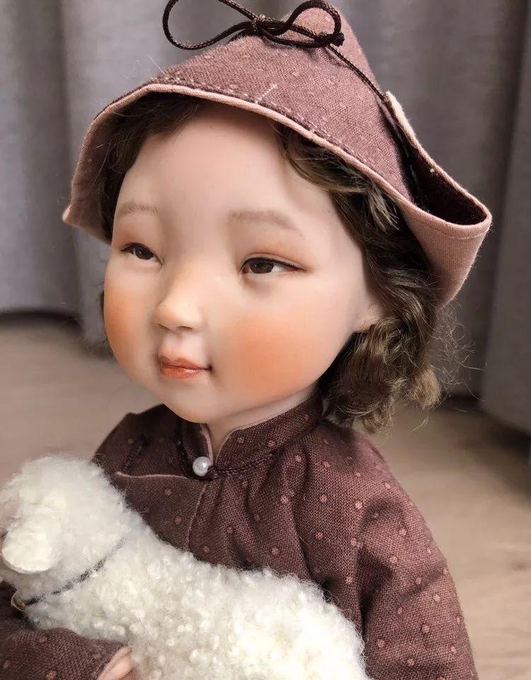 布里亚特美女制作的蒙古布娃娃,太可爱了! 第6张 布里亚特美女制作的蒙古布娃娃,太可爱了! 蒙古工艺