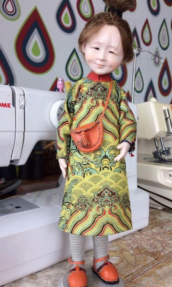 布里亚特美女制作的蒙古布娃娃,太可爱了! 第7张 布里亚特美女制作的蒙古布娃娃,太可爱了! 蒙古工艺