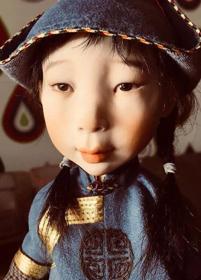 布里亚特美女制作的蒙古布娃娃,太可爱了! 第11张 布里亚特美女制作的蒙古布娃娃,太可爱了! 蒙古工艺